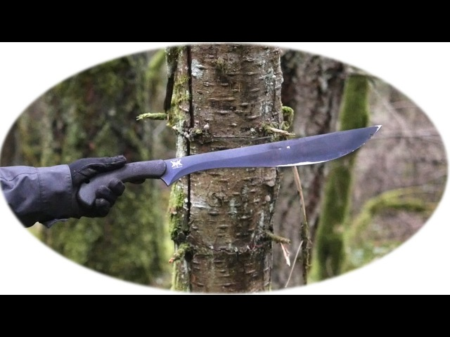 Testing the Schrade Priscilla (SCHMBS) Makhaira Brush Sword