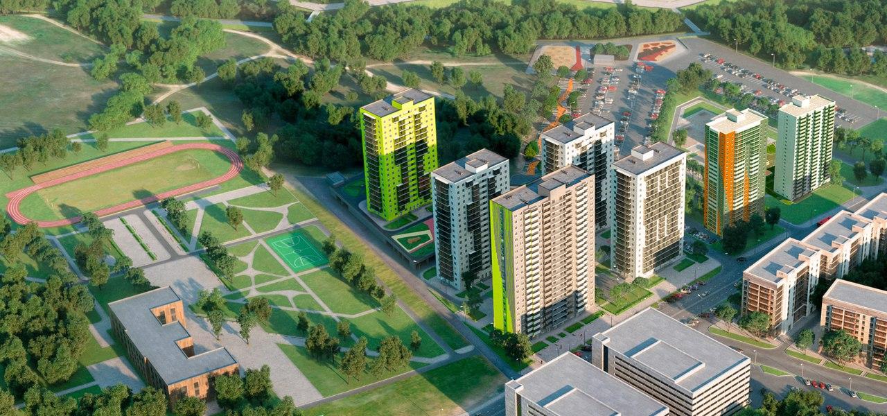 Купить однокомнатную квартиру в Казани в жилом комплексе Сказочный Лес