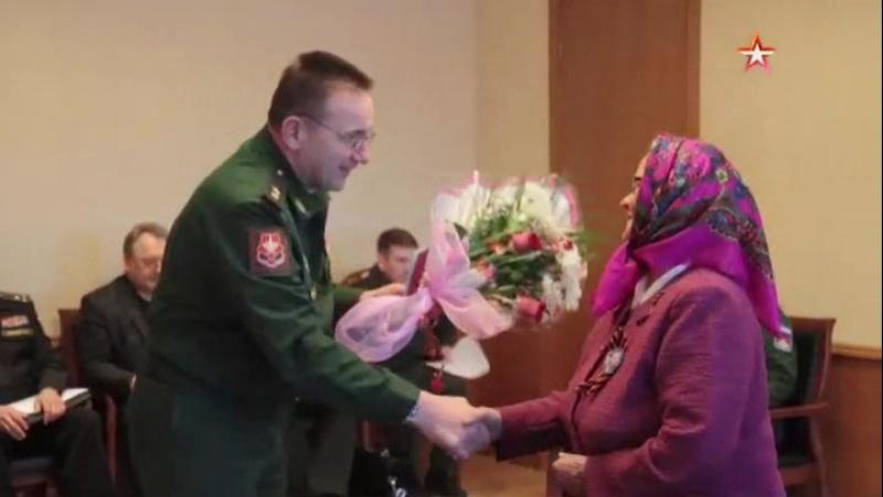 Дочь участника Войны получила орден Красной Звезды за погибшего отца
