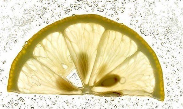 Удивительные замороженные лимоны