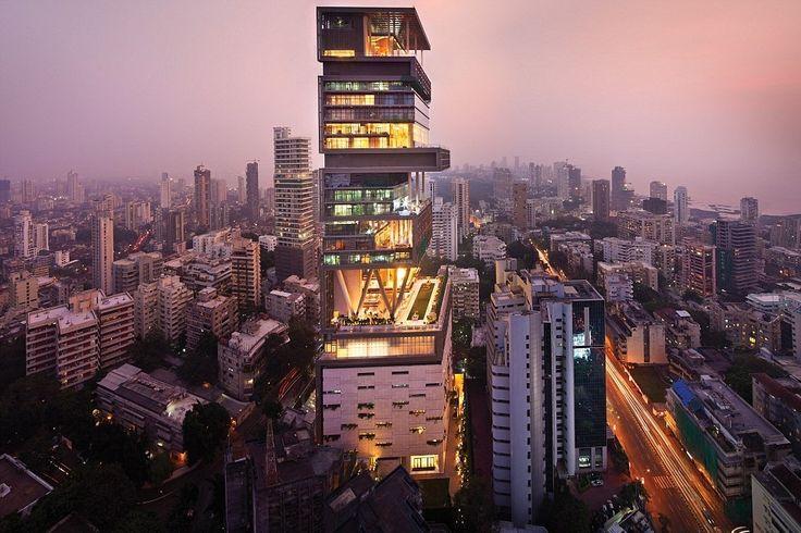 Антилла (Мумбаи, Индия). Дома миллиардеров