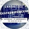 """Библиотека """"Екатерингофская"""""""