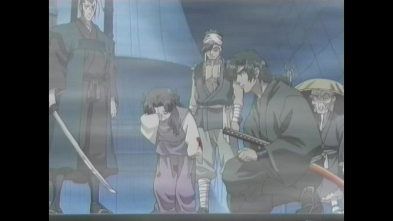 Манускрипт ниндзя: Новая глава / Ninja Scroll: The Series / Juubee Ninpuuchou: Ryuuhougyoku Hen - 11 серия (Д. Толмачев) [2003]
