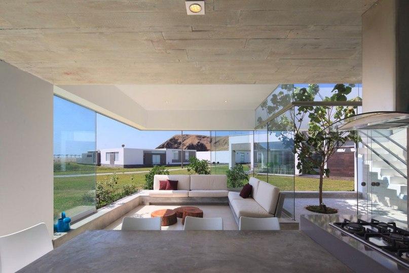 Частный дом в Перу #дома #архитектура #ландшафт