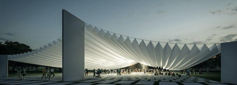 g. mazars designs a musical plaza for