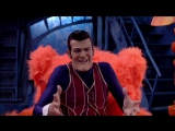LazyTown: Robbie Watches Robbie sings Bing Bang (The First Day of Summer) on TV