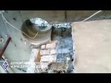 Алмазное бурение монолитного перекрытия диаметр 350 мм