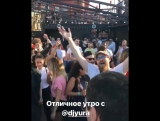"""""""Поймали в работе Dj Yura) марафон @megapolis_fm"""