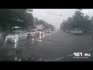 Как бушевала непогода в РО