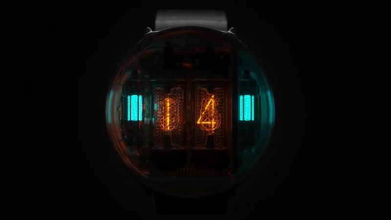 NIWA Nixie tube watch
