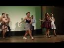 Танец стиляги американский танец 50-х