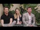 Elizabeth Olsen, Jeremy Renner Taylor Sheridan on 'Wind River's Standing Ovation | Cannes 2017 (рус. суб.)