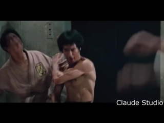 Bruce Lee vs Chuck Norris (Брюс Ли против Чака Норрис)