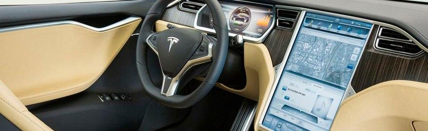 Китайские автомобили будут иметь салон в стиле «Теслы»