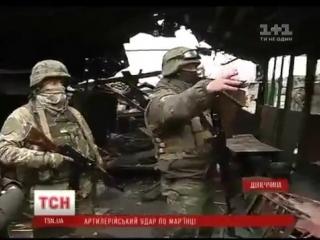 Оккупированная украиной Марьинка_ укрожурналюхи пытаются сопротивляться, но мест