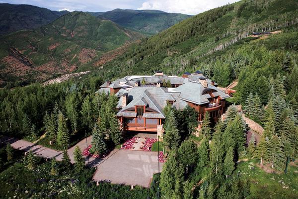 Ранчо «Хала» (Аспен, Колорадо). Дома миллиардеров