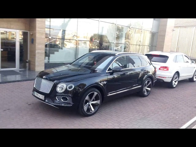 BENTLEY BENTAYGA W12 ALMATY 2016 . Бентли Бентайга Алматы .