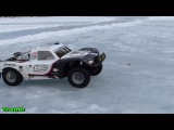 Losi 5ive-T OBR 15 scale RC Winter Snow &amp Ice Run