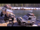 RC4WD's G2s take on the Beaver Flats of Scale Town RC CWR