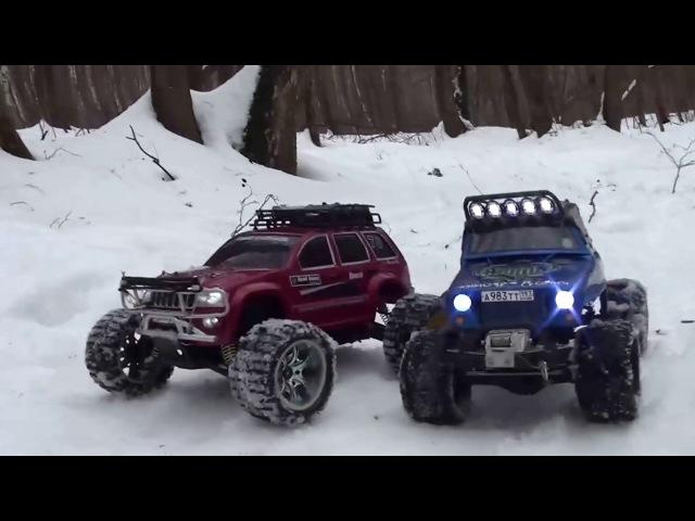 RC cars. Trophy.Радиоуправляемые модели, трофи,Rubicon-Axial,Jeep-Himoto,Maveric_Scout
