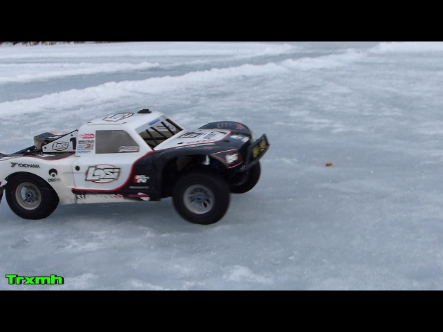 Losi 5ive-T OBR 1/5 scale RC Winter Snow Ice Run