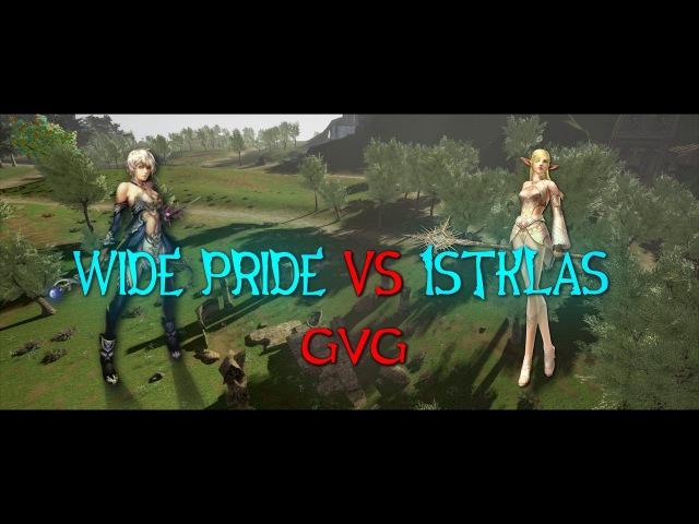 Wide Pride vs 1klas GvG [Gorezones Lineage 2]