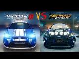 Asphalt 8 vs Xtreme Graphics Comparison
