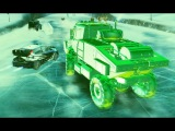 Asphalt Xtreme - Infected truck in MP is like driving a HULK!!!