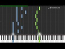 Pachelbell - Canon in D Piano Tutorial (Synthesia Sheets MIDI)