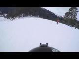 Сноубордист въехал в архызского барана