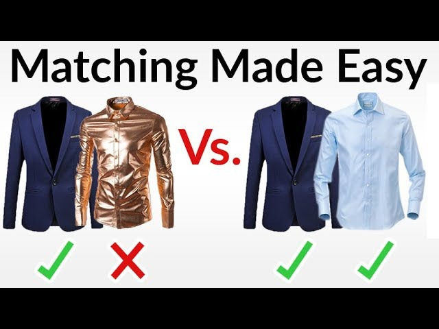 5 Easy Outfit Matching Rules