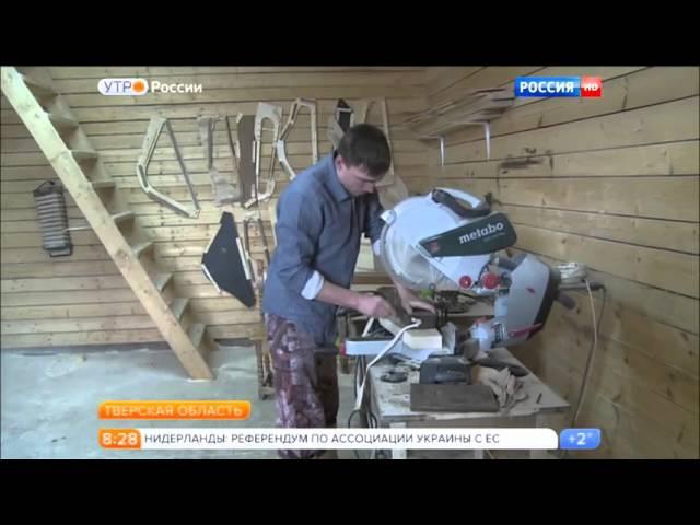 Сюжет о гусельной мастерской Мир гуслей на Россия 1