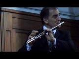 Giovanni Battista Pergolesi Concerto in G major, Claudio Barile, flute - Central Methodist Church