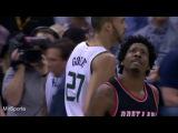 Utah vs Portland Баскетбол. НБА. Юта Джаз - Портленд Треил Блейзерс  15.02.2017