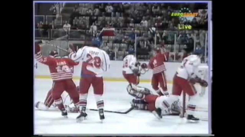 23.02.1994 г., ОИ в Лиллехаммере, матч Канада - Чехия (3:2).