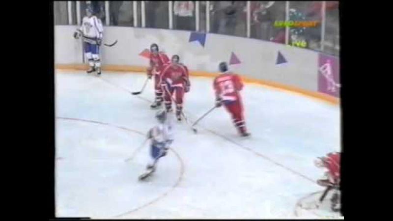 12.02.1994 г., ОИ в Лиллехаммере, матч Чехия - Финляндия (1:3).