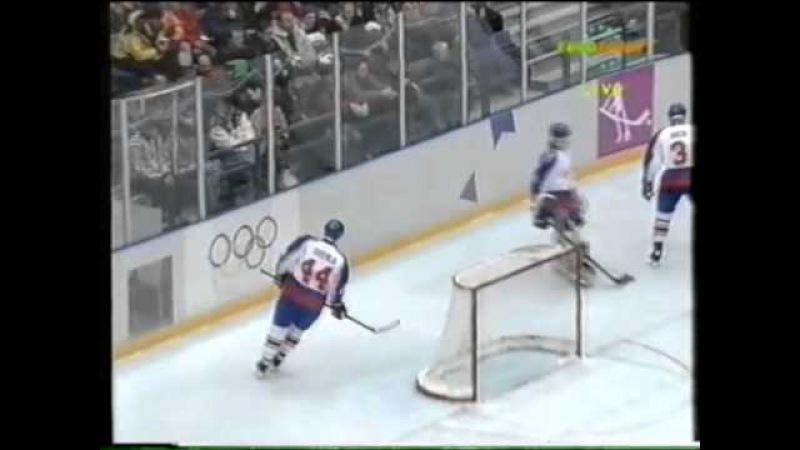 19.02.1994 г., ОИ в Лиллехаммере, матч Канада - Словакия (1:3).
