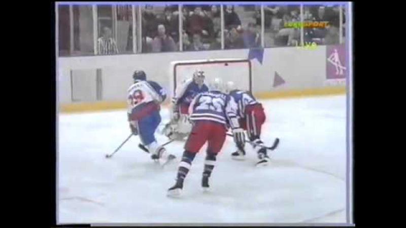 15.02.1994 г, ОИ в Лиллехаммере, матч США - Словакия (3:3).