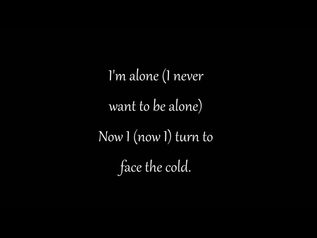 Alice In Chains Pearl Jam- Alone with lyrics