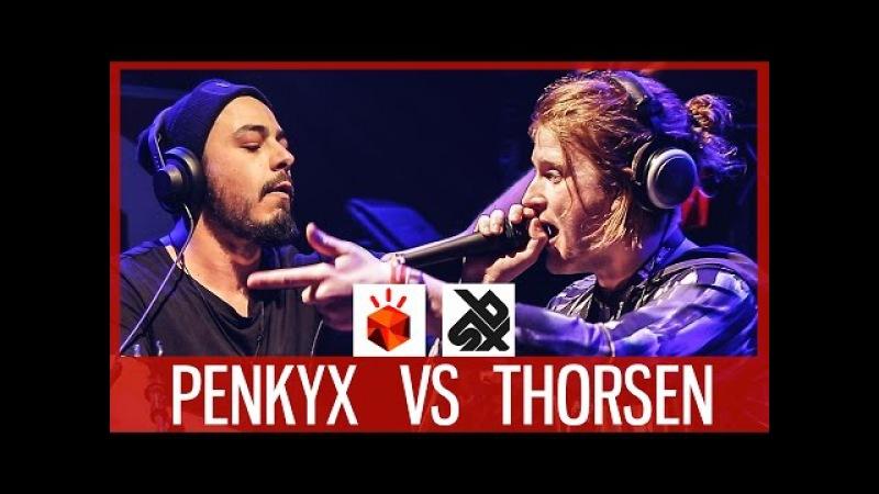 PENKYX vs THORSEN   Grand Beatbox LOOPSTATION Battle 2017   14 Final