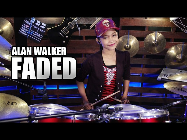 Alan Walker - Faded Drum Cover by Nur Amira Syahira
