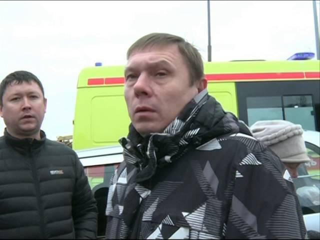 Очевидцы ДТП на Московском проспекте: водитель элитного «Мерседеса» участвовал в гонках