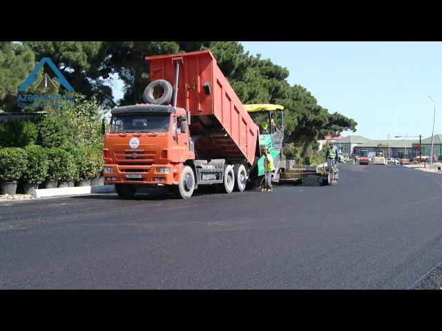 Binəqədi-Novxanı-Corat avtomobil yolunun tikintisi yekunlaşır