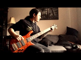 Cryptopsy - White Worms (Bass playthrough by Olivier Pinard)