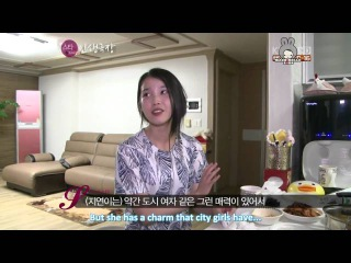 [Engsub]120711 IU visits Ji Yeon at home