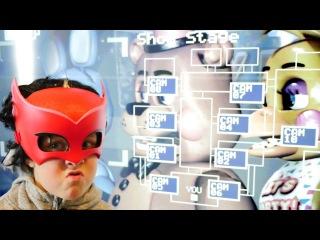 Смешное видео для детей! 5 ночей с Фредди игрушки. ИгроБой Адриан против хейтера!