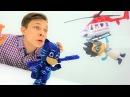 Герои в Масках и Хот Вилс: видео про игрушки! Новые машинки. Ромео разрушил трек Х...