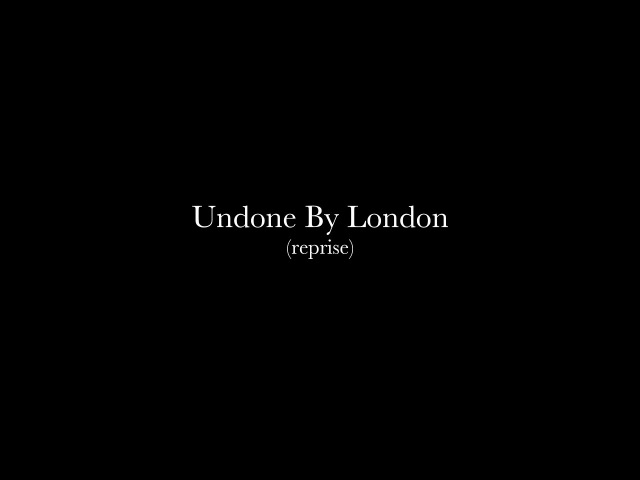 Undone By London (Reprise) - Rob Dougan - Misc. Sessions EP Film (Recorded at Abbey Road Studios)