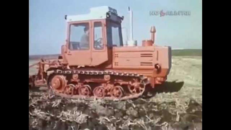 1987-й год. Трактор Т - 153. Сюжет программы Время (14 ноября).
