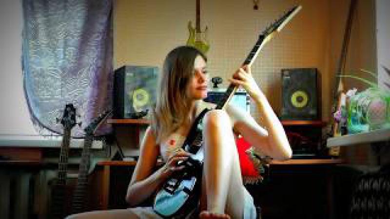 Flight of the Bumblebee - Guitar cover by Zarina Rybakova